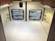 Adria Twin SP rear double bed
