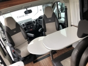 Adria Twin SP table leaf open