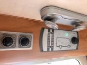 Hymer Exsis Silverline 562 control panels