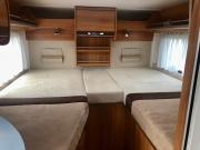 Hymer Exsis Silverline 562 rear beds