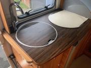 Hymer Exsis Silverline 562 Kitchen worktop