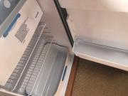 Hymer Exsis Silverline 562 fridge