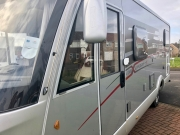 Hymer Exsis Silverline 562 near side view