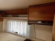 Hymer Exsis Silverline 562 rear bed storage
