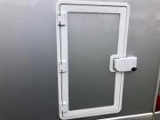 Hymer Exsis Silverline 562 small garage door with safedoor