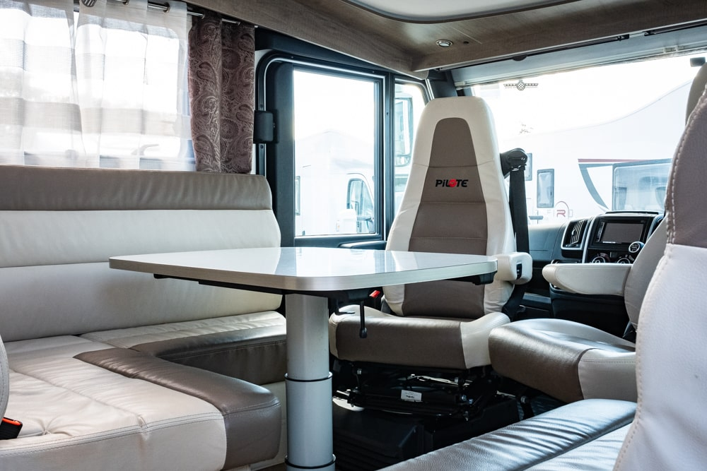 Pilote - Sensation 740G - 4 Berth Luxury Motorhome For Hire in Bristol-Somerset
