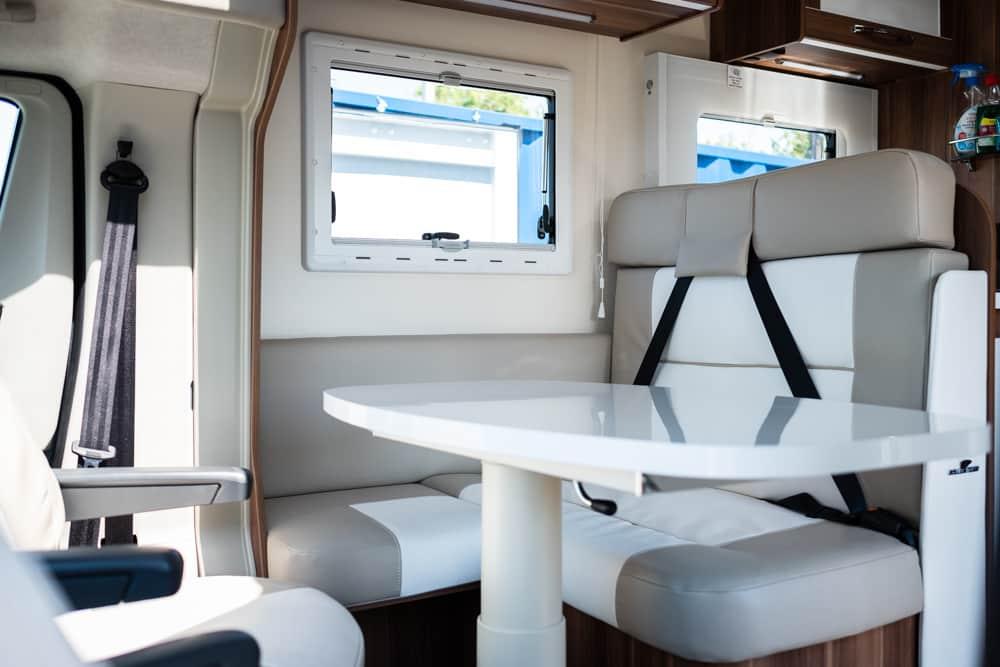 4 Berth Motorhome For Hire - T-Line 740 - Island Bed motorhome - prestige - motorhome hire bristol