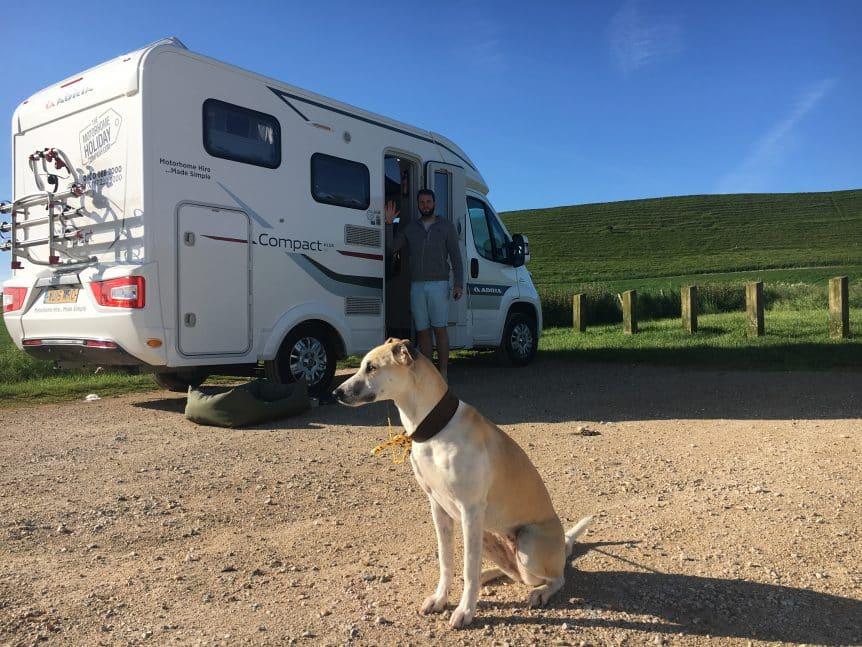 pets to europe, young hiring motorhome