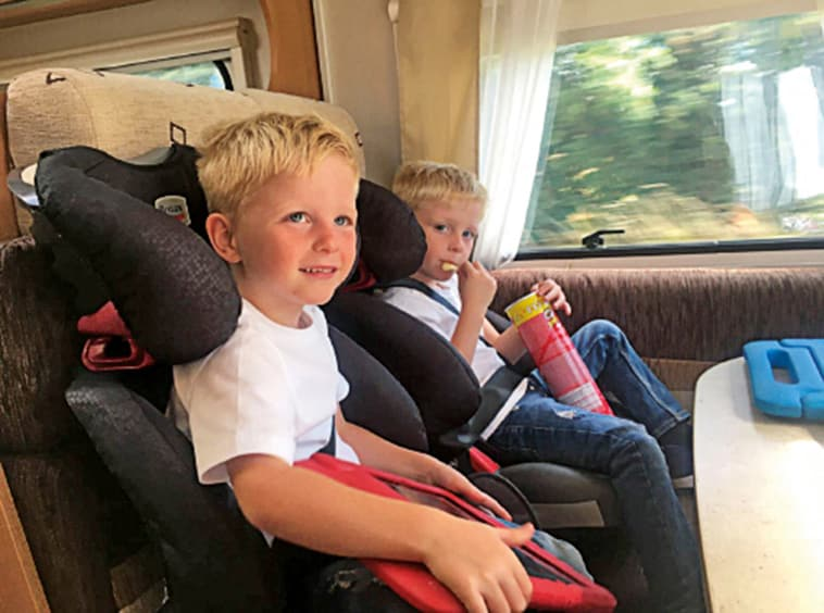 Customer voices - grandchildren on a motorhome holiday - Nikki Cook - whats on Bristol