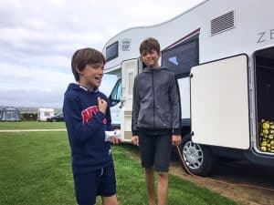 Louise's Cornwall motorhome holiday with her family