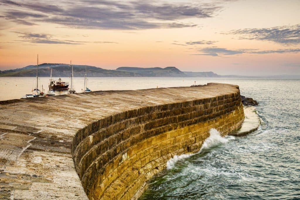 Lyme Regis - The Cobb - Broadchurch - Motorhome Holiday location inspiration