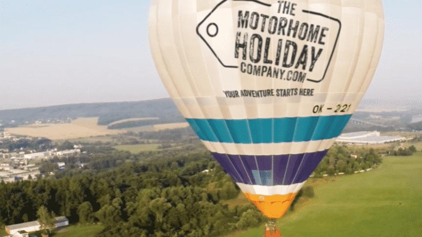 WIN champagne balloon flight at International balloon fiesta