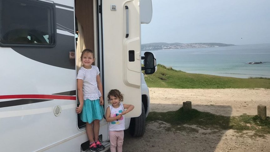 Motorhome in St Ives