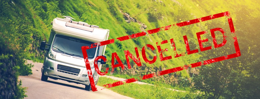 Motorhome hire holidays cancelled due to motorhome recalls