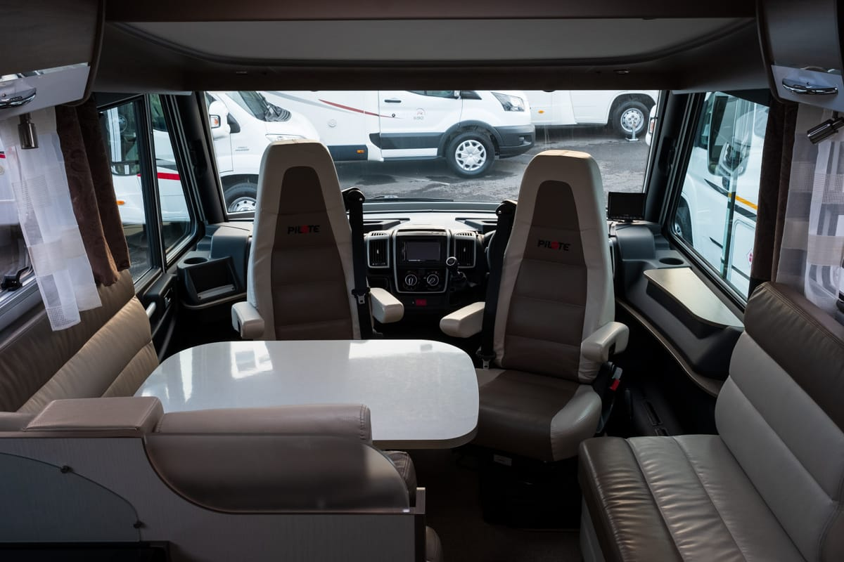 Meet the Motorhome: Pilote - Sensation 740G - A-Class Motorhome for Hire