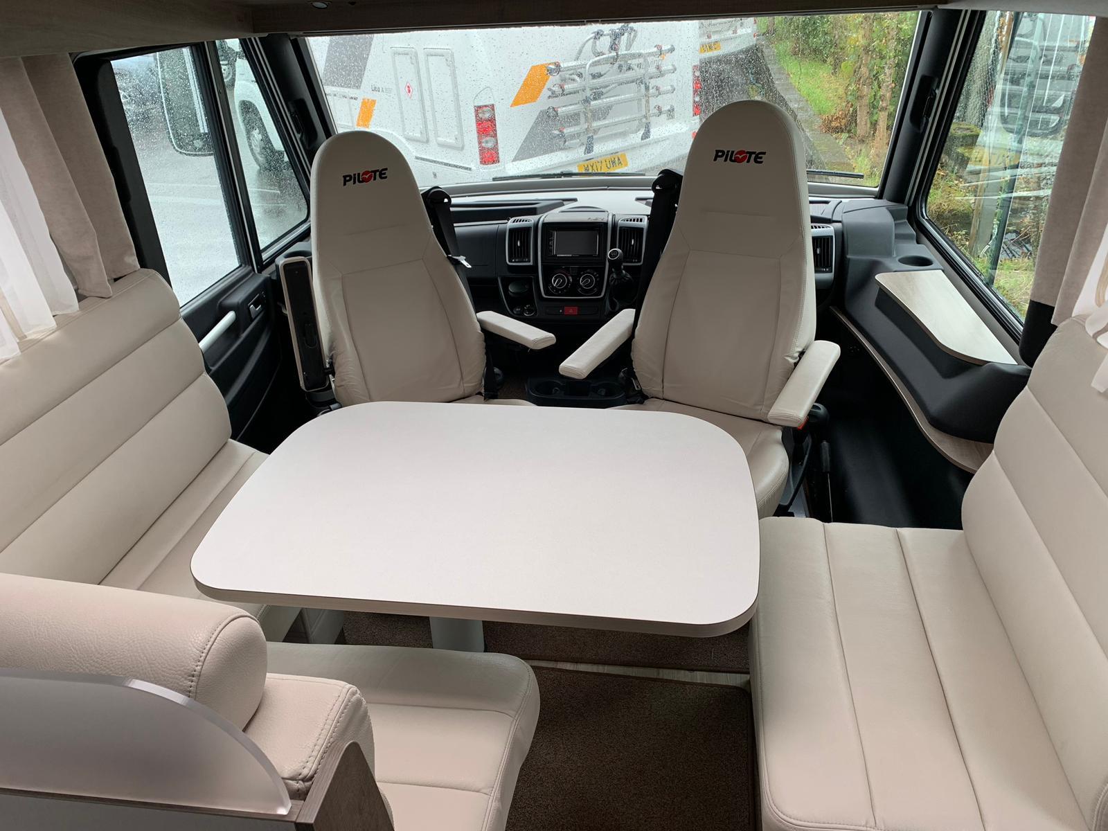 Pilote - Sensation 740G - 4 Berth Luxury Motorhome For Hire in Bristol-Somerset