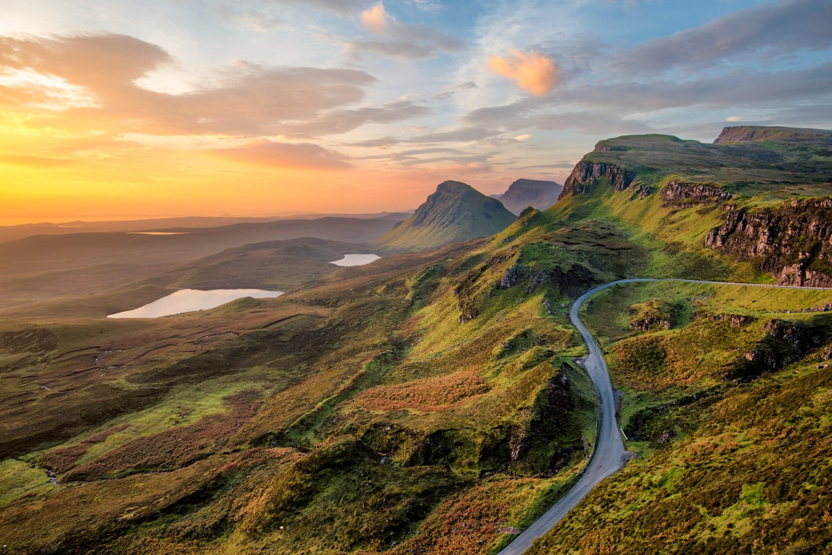 Scottish road-trip by motorhome - love's long road - literature inspired road trip