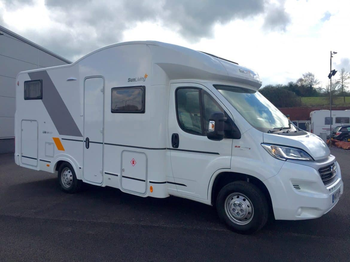SunLiving M45SP 4 berth motorhome for hire