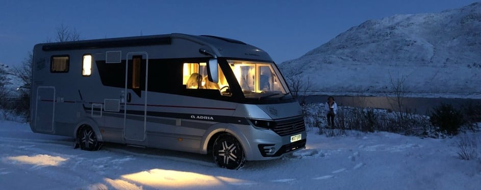 winter motorhome holiday ideas