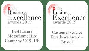 British excellence award - MotorhomeEarn
