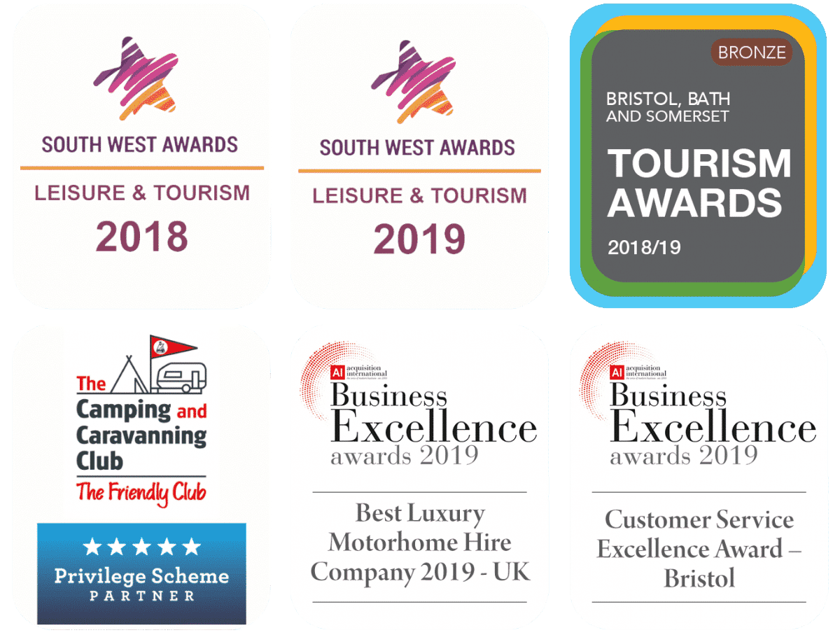 award-winning motorhome hire